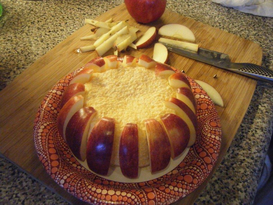 apple cheddar ball