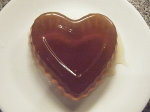 Jellied consomme heart!