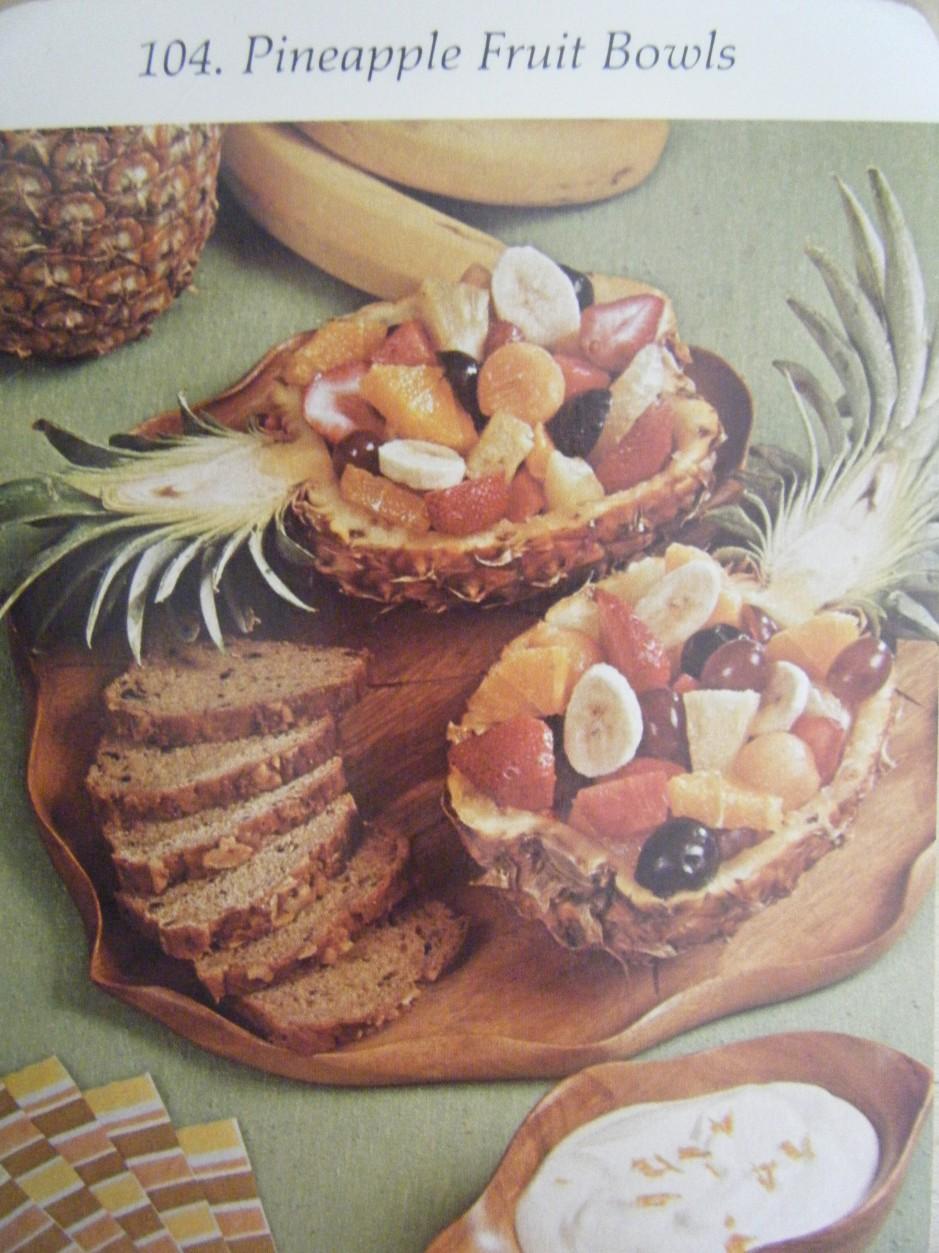 104. Pineapple Fruit Bowls
