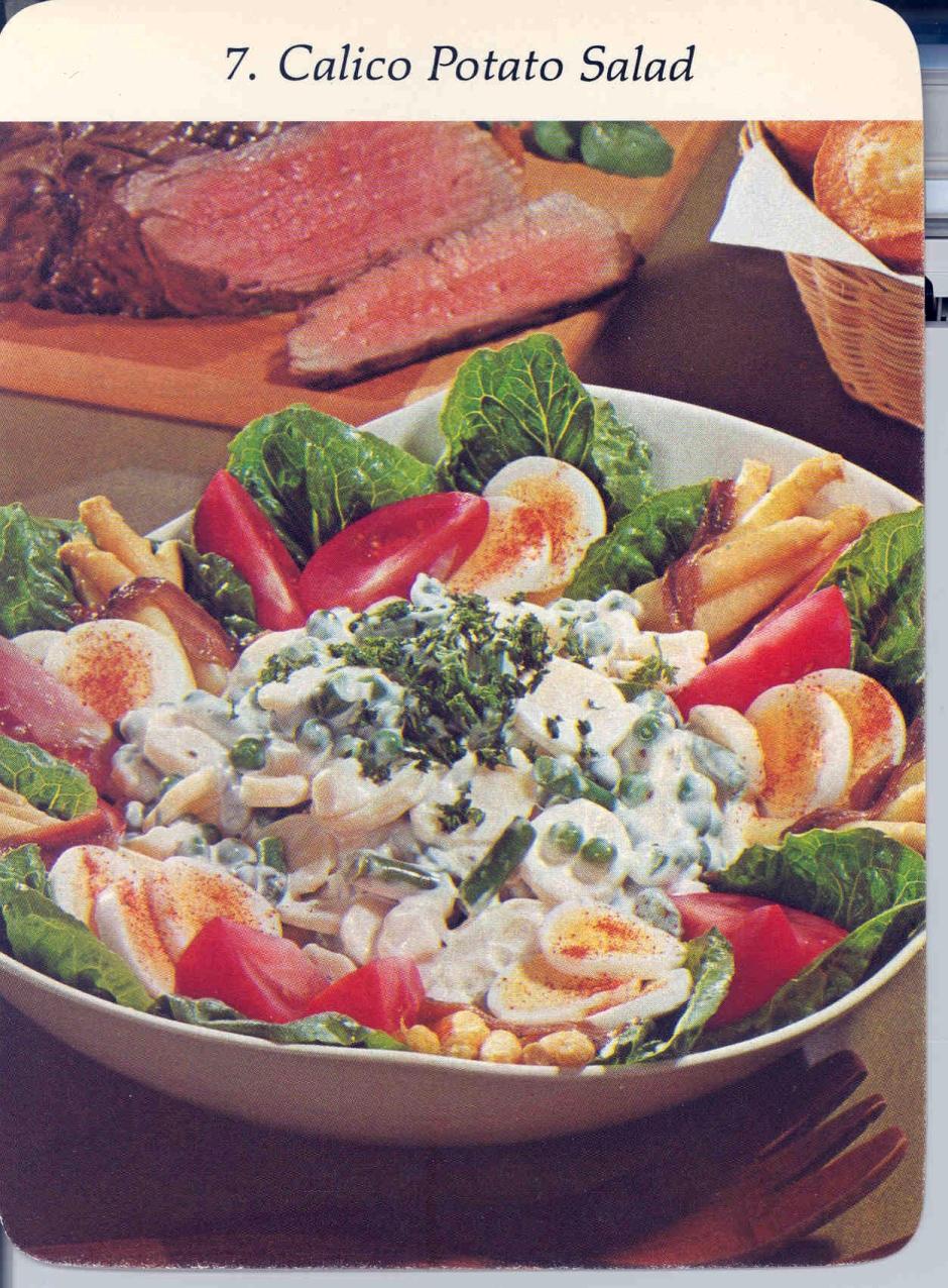 calico potato salad