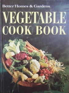 vegetable cook book