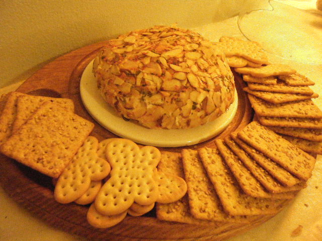 party cheese ball!