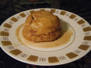 golden cap pudding