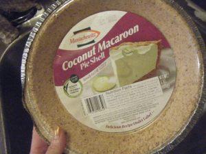 macaroon crust