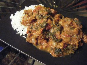 Lamb & Kale Curry