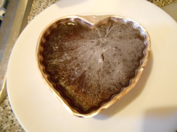 frozen jello heart