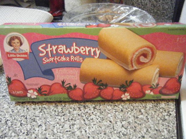 Little Debbie Strawberry Shortcake