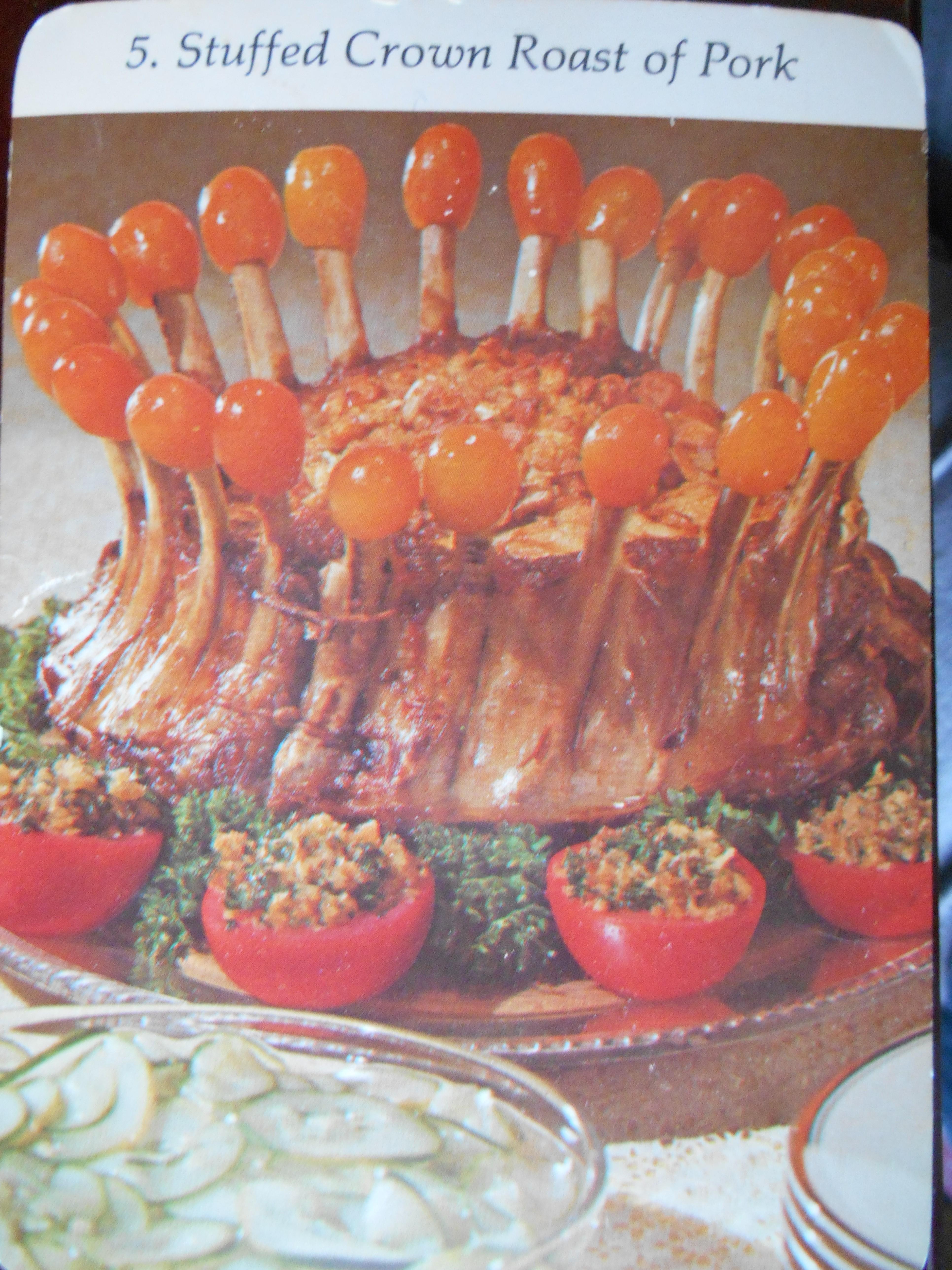 Stuffed Crown Roast of Pork | Dinner is Served 1972