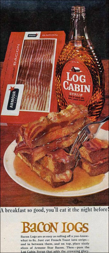 bacon logs