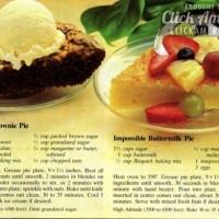 Bisquick Impossible Brownie Pie