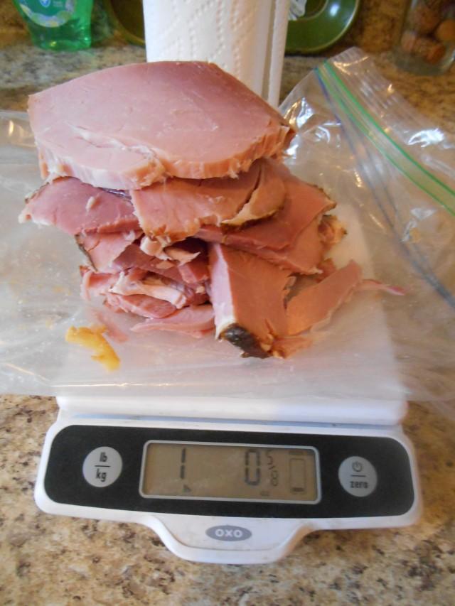 One pound ham