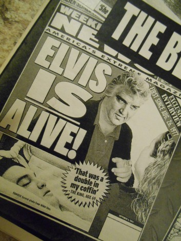 Elvis IS alive!