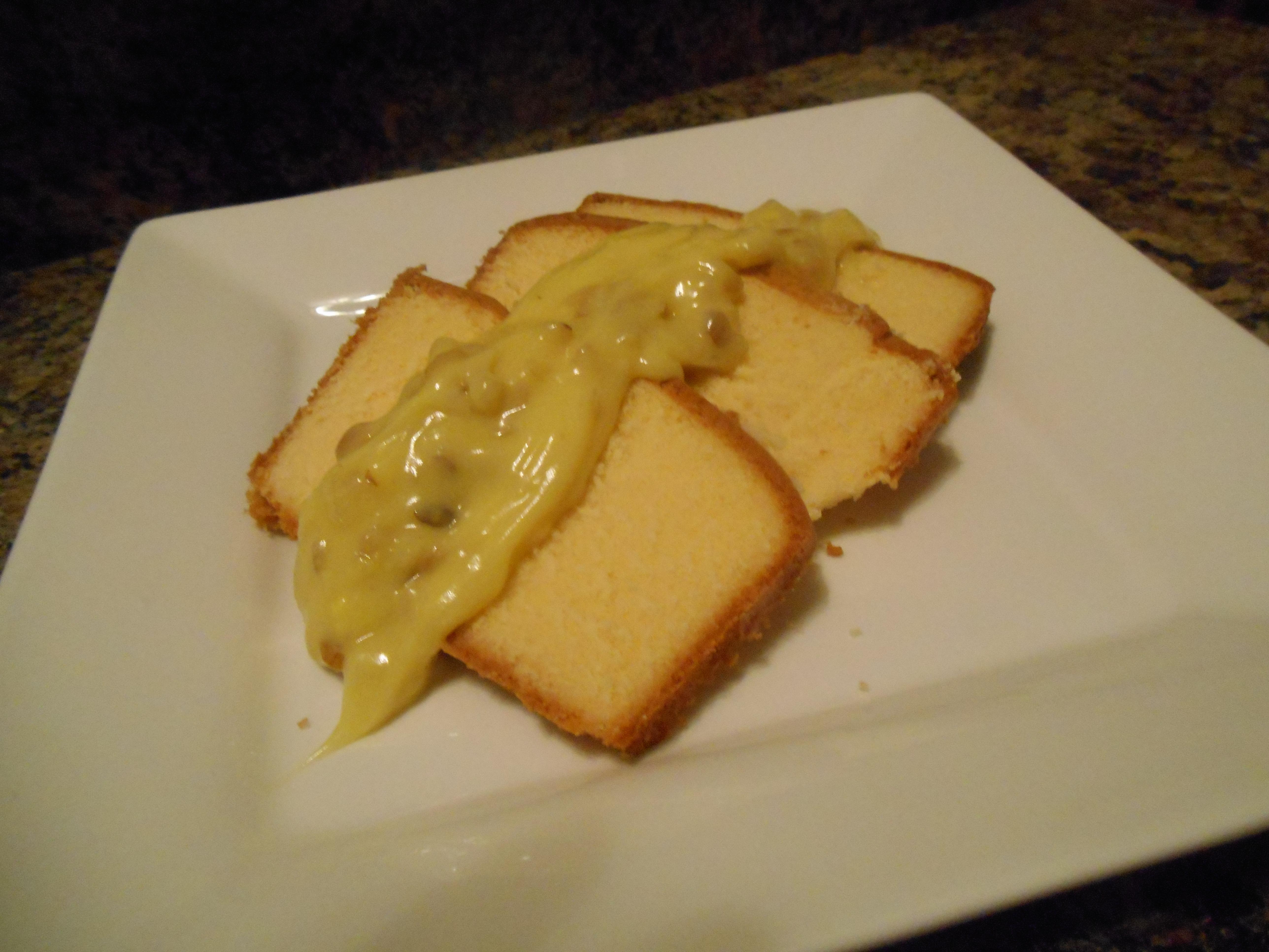 lemon sliced cake