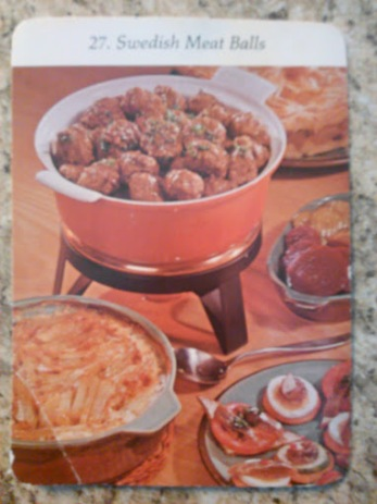 27. Swedish Meatballs