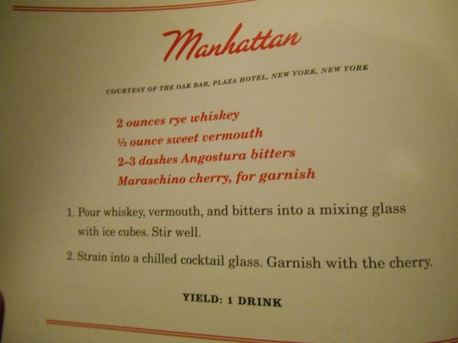Oak Bar Manhattan