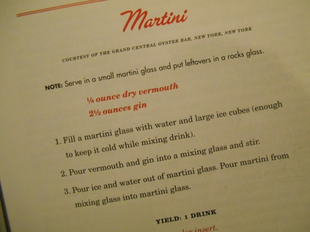 Mad Men Martini