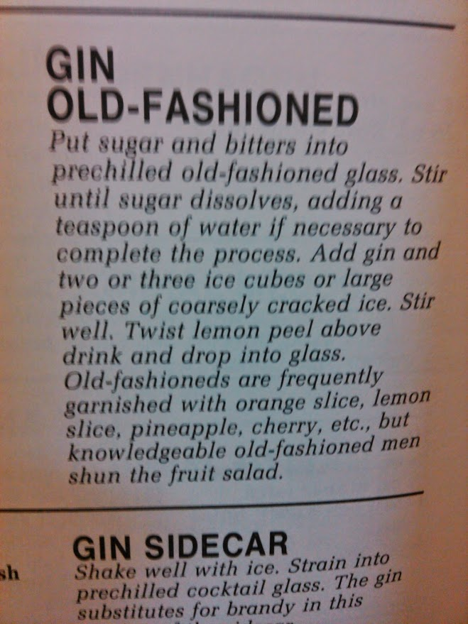 gin old fashioned directions