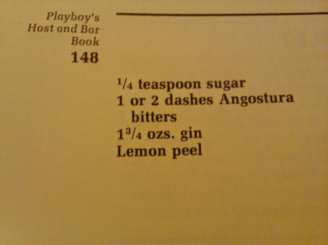 gin old fashioned recipe
