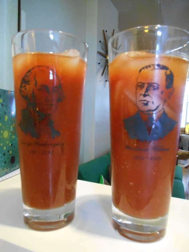 Presidential Bloody Marys