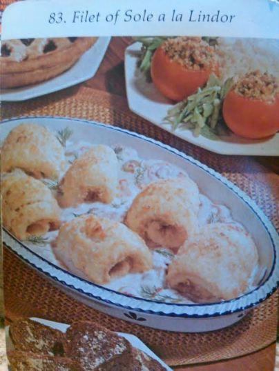 filet of sole a la lindor