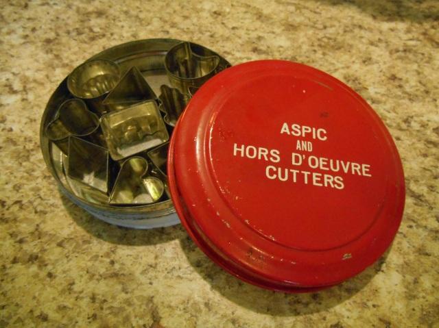 aspic cutters