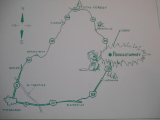 groundhog map