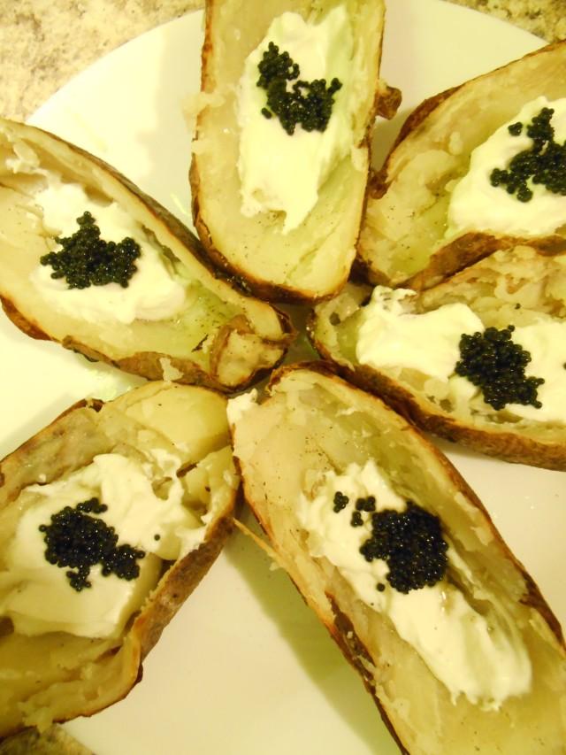 liza's potato shells