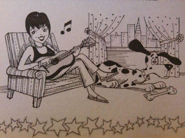liza drawing